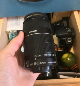 Объектив canon 55-250 is 2 торг