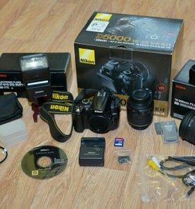 Зеркальный фотоаппарат Nikon + объективы