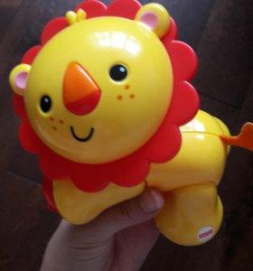 Подвижные игрушки Fisher Price CDC10 Львенок
