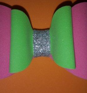 Бантики из фоамирана