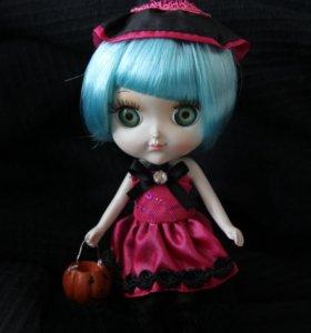 Керамическая кукла-ведьмочка