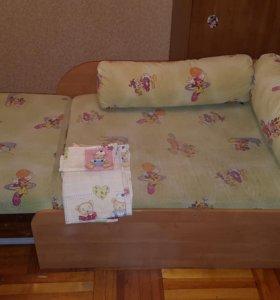 Кровать раскладная детская