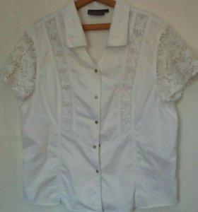 Блуза-рубашка р.56-60, турция