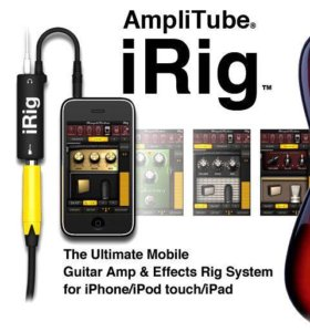 Гитарный адаптер IK Multimedia iRig-аудиоинтерфейс