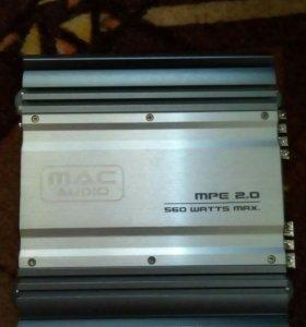 2-х канальный усилитель MAC AUDIO