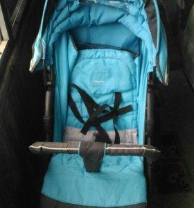 Прогулочная коляска baby care jogger cruze blue