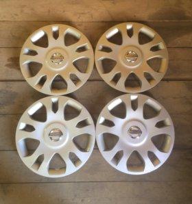Оригинальные колпаки Nissan almera classic R14