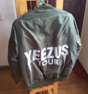 Yeezus Tour Bomber by Kanye West