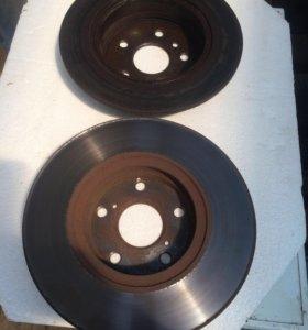 Тормозные диски на Тойоту Ланд крузер