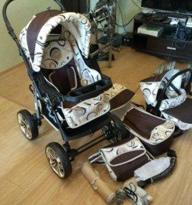 Новая детская коляска-трансформер из Европы 3 в 1