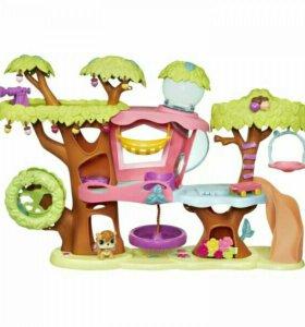 Игровой домик на дереве Littlest Pet Shop