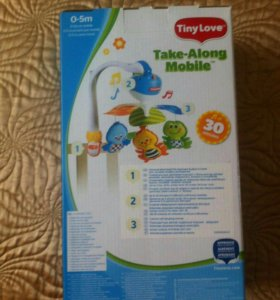 Мобиль на детскую кроватку