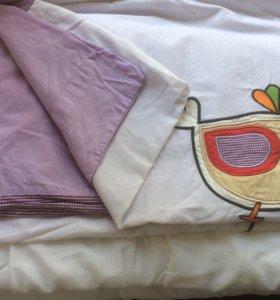 одеяло в кроватку+пододеяльник