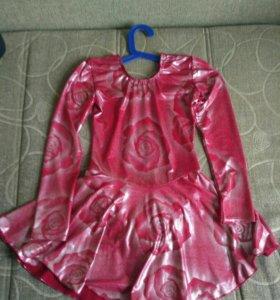 Платье для бальных танцев детское