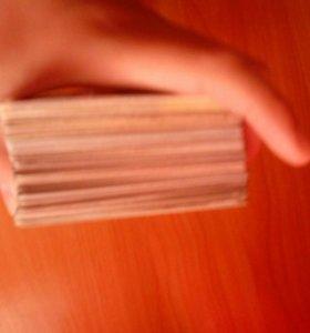 Игровые карточки трансформеров + ящик для хранения