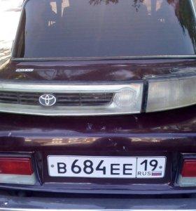 Фара и решетка с туманками от Toyota Emina