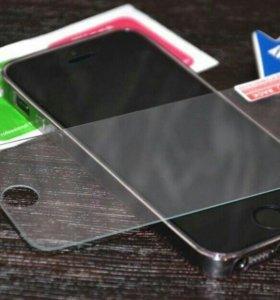 Защитное стекло Iphone 5, 5s, SE