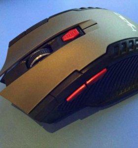 Новая мышка беспроводная игровая 6 кнопок