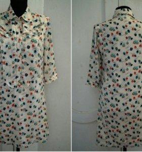 Платье с совами Кира Пластинина, S