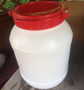 Бочка 25 литров пищевой пластик