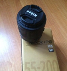 объектив Nikon af-s DX 55-200 mm