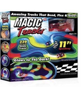 Magic Tracks (Светящаяся дорога), 150-440 деталей