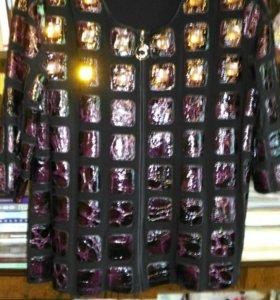 Блуза для пышненьких дам.