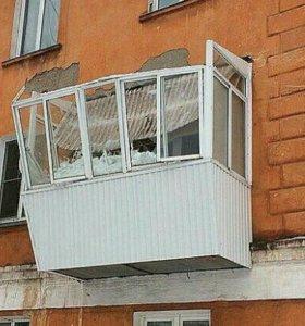 Восстановим старый балкон или новый под ключ