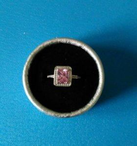 Комплект серьги кольцо
