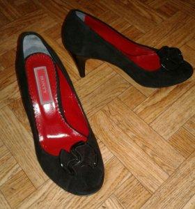 Туфли Bonty, 38 р-р, нат.замша