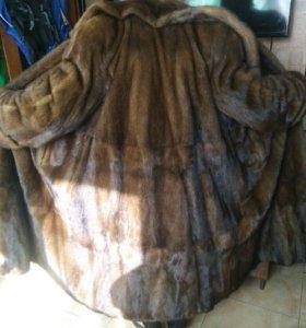 Норковая шуба 56-60 размер