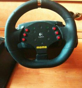 Руль для видеоигр Logitech motoracing