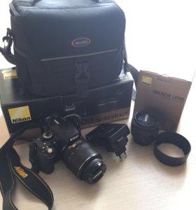 Nikon D5100 + портретный объектив Nikkor 50mm