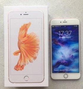 iPhone 6s Plus rose gold 64 gb.
