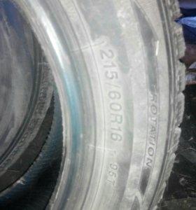 Комплект зимней резины 215/60 R16