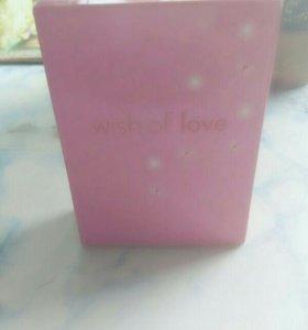 Туалетная вода. Wish of love