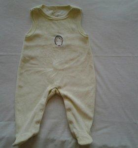 Одежда детская -Ползунки теплые новые