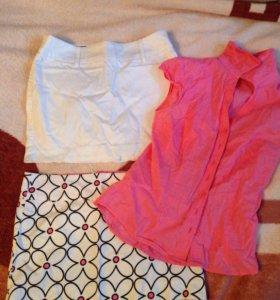 Юбки (блузка в подарок)