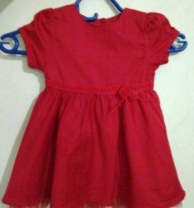 Платье 74 размер