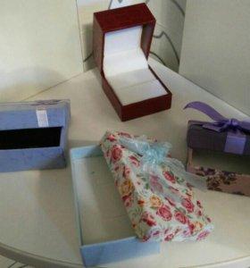 Подарочные коробки для ювелирки