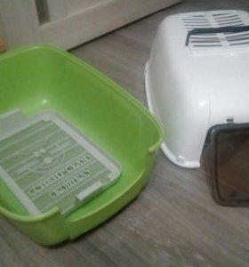 Биотуалет для кошек с угольным фильтром