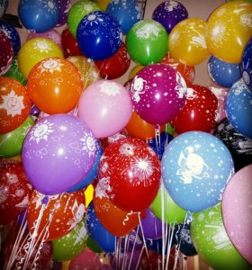 Оформление любого праздника шарами