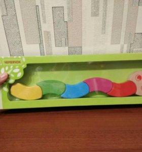 Погремуши, деревянная игрушка, шнуровка