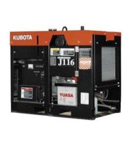 Новая электростанция дизельная Kubota