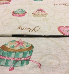 Кисточка для рисунка на ногтях новая
