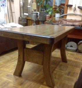 Стол из натурального дерева Викинг 1,6х0,64