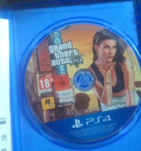 GTA5 диск PS4