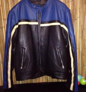 Кожаные куртки 52-56р.