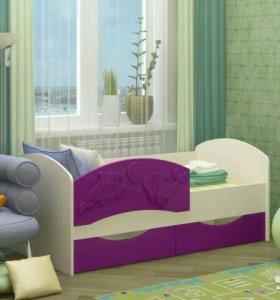 Детская кровать дельфин 3