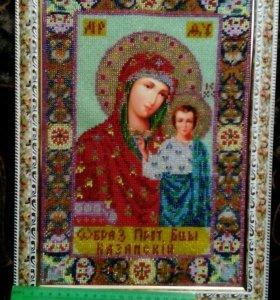 Образ Казанской богородицы
